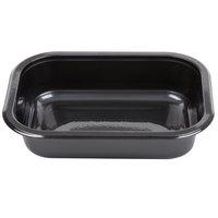 Genpak 55516 16 oz. Dual Ovenable 1-Compartment Food Pan - 500/Case