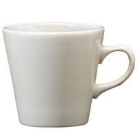 Homer Laughlin 12700 6.75 oz. Ivory (American White) Kent China Cup - 36/Case
