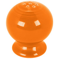Homer Laughlin 750325 Fiesta Tangerine Salt Shaker - 12/Case