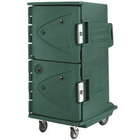 Cambro CMBHC1826TTR192 Granite Green Camtherm Electric Food Holding Cabinet w/ Security Package Tall Profile - Hot / Cold