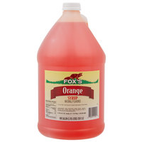 Fox's 1 Gallon Orangeade Concentrate   - 4/Case
