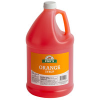 Fox's 1 Gallon Orangeade Concentrate - 4/Case