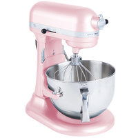 KitchenAid KP26M1XPK Pink Professional 600 Series 6 Qt. Countertop Mixer