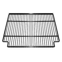 True 921785 Black Coated Narrow Gap Wire Shelf with Shelf Clips - 19 5/8 inch x 16 1/4 inch