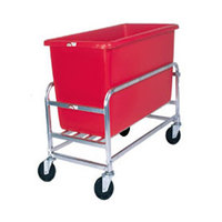 Winholt 30-8-SS/RD Stainless Steel Bulk Mover with 8 Bushel Red Tub