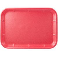 CKF 88071 (#10X14) Rose Foam Meat Tray 14 inch x 10 inch x 3/4 inch - 100/Case