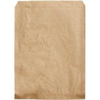 Duro 8 inch x 11 inch Brown Merchandise Bag - 2000/Bundle