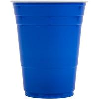 Dart P16B Blue 16 oz. Plastic Cup - 50/Pack