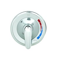 T&S B-3204 Shower Package with Pressure Balancing Mixing Valve and Chrome Face Plate - Sweat Connections