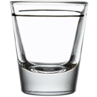 Libbey 5120/A0007 1.5 oz. Whiskey / Shot Glass with 1 oz. Cap Line - 12/Case
