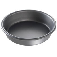 Chicago Metallic 91060 6 inch x 1 1/2 inch Deep Dish Hard Coat Anodized Aluminum Customizable Pizza Pan