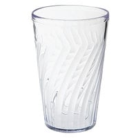 GET 2212-1-CL Tahiti 12 oz. Clear SAN Customizable Plastic Tumbler - 72/Case