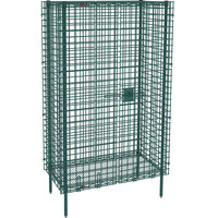 Metro SEC33K3 Metroseal 3 Stationary Wire Security Cabinet 38 1/2 inch x 21 1/2 inch x 66 13/16 inch
