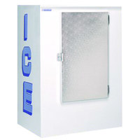Polar Temp 420CW Cold Wall Outdoor Ice Merchandiser - 42 cu. ft.