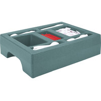 Cambro LCDCH10401 Slate Blue Condiment Holder for Cambro 1000LCD / UC1000