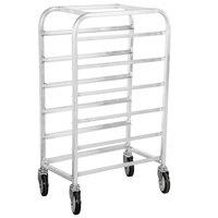 Winholt AL-126 End Load Aluminum Platter Cart - Six 12 inch Trays