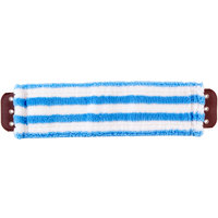 Unger MD40B SmartColor MicroMop 7.0 16 inch Blue Wet / Dry Mop Pad