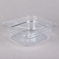 Cambro 62CW135 Camwear 1/6 Size Clear Polycarbonate Food Pan - 2 1/2 inch Deep