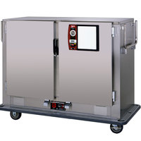Metro MBQ-120D-QH Insulated Heated Banquet Cabinet Two Door With Quad-Heat System Holds up to 120 Plates 120V