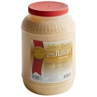 AAK Select Recipe Golden Italian Dressing 1 Gallon Container - 4/Case
