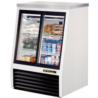 True TSID-36-4 36 inch Single Duty Four Door Refrigerated Deli Case - 11.8 Cu. Ft.