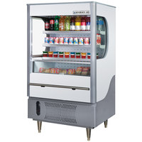 Beverage-Air VM7-1-W VueMax 35 inch White and Gray Air Curtain Merchandiser