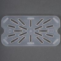 Cambro 40PPD 1/4 Size Translucent Polypropylene Drain Tray