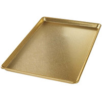 Chicago Metallic 40930 Gold 12 inch x 18 inch Customizable Bakery Display Tray