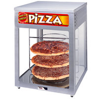 APW Wyott HDC-4 Heated Display Case with Four 18 inch Pizza Racks - 120V