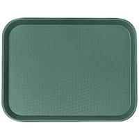 Cambro 1216FF119 12 inch x 16 inch Sherwood Green Fast Food Tray - 24/Case