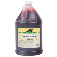 Fox's 1 Gallon Fruit Punch Slush Syrup - 4/Case