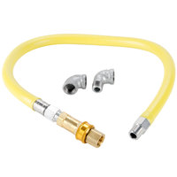 T&S HG-4C-48 Safe-T-Link 48 inch Quick Disconnect Gas Appliance Connector 1/2 inch NPT