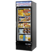 Turbo Air TGF-23F Black 27 inch Glass Door Merchandising Freezer