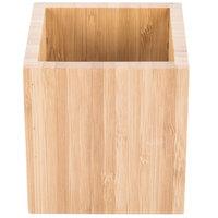 Cal-Mil C4X4-60 4 inch Square Bamboo Jar