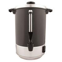 Regalware 58155R 55 Cup (2 Gallon) Aluminum Coffee Machine Urn with Black Satin Finish