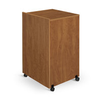 Oklahoma Sound 112MO Lectern Base - Medium Oak Finish