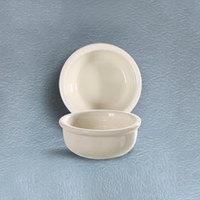 CAC REC-42 6 oz. Ivory (American White) Rolled Edge China Bowl - 48/Case