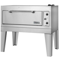 Garland E2115 55 1/2 inch Triple Deck Electric Roast / Bake Oven (1 Roast, 2 Bake) - 208V, 1 Phase, 18.6 kW