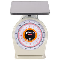 Rubbermaid FG832BW Pelouze 32 oz. / 900 Gram Portion Scale - 9 inch x 9 inch Platform