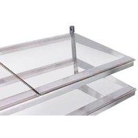 True 914820 Glass Shelf - 21 3/4 inch x 15 1/4 inch