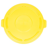 Rubbermaid FG264560YEL BRUTE 44 Gallon Yellow Trash Can Lid