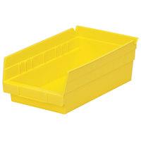 Metro MB30130Y Yellow Nesting Shelf Bin 11 5/8 inch x 6 5/8 inch x 4 inch