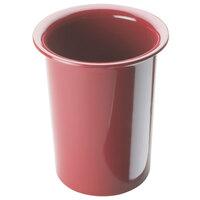 Cal Mil 1017-64 Solid Cranberry Melamine Cylinder