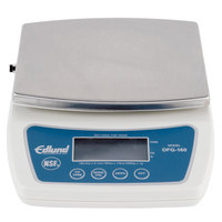 Edlund DFG-160 10 lb. Digital Portion Scale with 6 inch x 6 3/4 inch Stainless Steel Platform