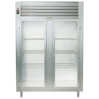 Traulsen RHT226WUT-FHG Stainless Steel Two Section Glass Door Shallow Depth Reach In Refrigerator - Specification Line