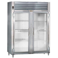 Traulsen RHT226WUT-FHG Stainless Steel 40.8 Cu. Ft. Two Section Glass Door Shallow Depth Reach In Refrigerator - Specification Line