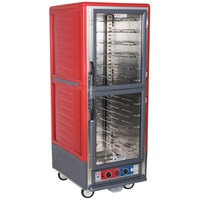 Metro C539-CDC-U C5 3 Series Heated Holding and Proofing Cabinet - Clear Dutch Doors