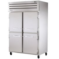 True STG2H-4HS Specification Series Two Section Reach In Heated Holding Cabinet with Solid Half Doors