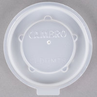 Cambro CLDHMT8 Disposable Translucent Lid for Dinex Heritage 8 oz. Mug or Insulated Tumbler - 2000/Case
