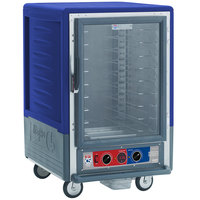 Metro C535-MFC-U-BU C5 3 Series Heated Holding and Proofing Cabinet with Clear Door - Blue